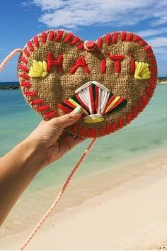 Love from Labadee. Hand-crafted souvenirs are a great way to take home a little piece of Haiti.