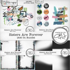 Sisters Are Forever - Add On Bundle By Created by Jill