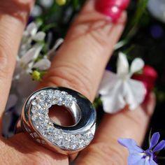 Coal Ring Annabelle - rostfritt stål