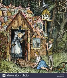 Glasgow University gives 'trigger warnings' about classic Brothers Grimm fairytales - NewsyPeople Brothers Grimm Fairy Tales, The Lovely Bones, Witch Cottage, Medieval World, Jackson Pollock, Naive Art, Pin Up Art, Red Riding Hood, Famous Artists