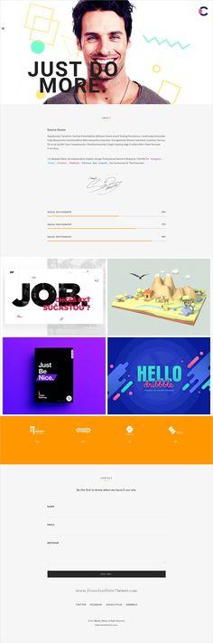 Roval - Personal Portfolio Template Personal portfolio and Tech - bootstrap resume template