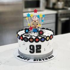 Karaoke Theme Birthday Cake