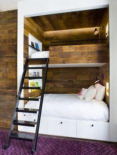 10 элегантных двухъярусных кроватей