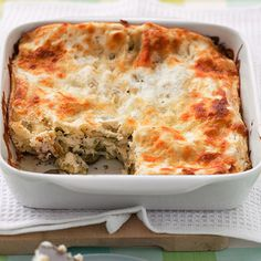 No-boil noodles save time because you don't have to boil them; they soften as they absorb the liquid from other ingredients.Recipe: Zucchini Lasagna