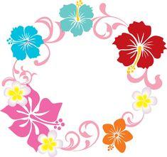 ハイビスカスのイラスト見本-カラフルフラワー10 Pinstriping Designs, Moana Party, Planner Template, Hibiscus Flowers, Unicorn Birthday Parties, Hand Embroidery Designs, Luau, Travel Posters, Cover Photos
