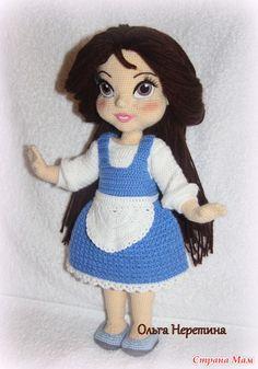 Куколка Белль с набором одежды - Вязание - Страна Мам