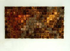 Rustic Wood wall Art SALE wood wall sculpture by ArtGlamourSligo