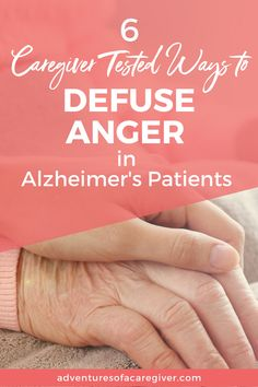 Caregiver tested strategies to deal with anger and aggression in Alzheimer's. caregiver 6 Ways to Defuse Anger in Alzheimer's Patients Alzheimer Care, Dementia Care, Alzheimer's And Dementia, Dealing With Dementia, Dealing With Anger, Alzheimer's Prevention, Alzheimer's Symptoms, Understanding Dementia, Alzheimers Activities