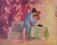 """""""Variaciones sobre una chica que vive sola"""", de la talentosa artista plástica Paula Cecchi en la Galería de arte Laura Haber, O'Higgins 1361 3ºpiso, Belgrano, Buenos Aires. La muestra se podrá visitar a partir del jueves 28 de Agosto hasta el sábado 20 de Septiembre de lunes a viernes de 14.00 a 20.00 hs. Los días sábados de 11.00 a 17 hs y domingos con cita previa."""