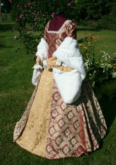 Reproduction of Catherine Parr dress