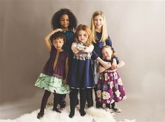 Four Girls, One with Disabilities, in an Ad Photo
