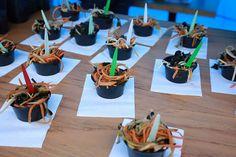 Ensaladas de Alga Marinadas con Batata de Lanzarote