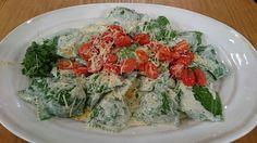 Receta de hoy: ravioles verdes