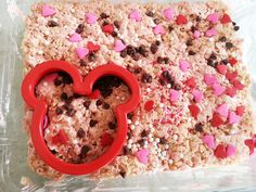 Minnie Mouse Rice Krispie Treats!