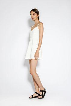 Riley Dress White – Lulu & Rose Check Dress, Rose Dress, Wardrobe Staples, A Line Skirts, Most Beautiful, Label, Women Wear, White Dress, Feminine