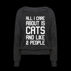 Who cares about people anyway? Let your introverted side shine bright and shy away from socializing all you want with this lazy, cat lover's, netflix enthusiast's design! Now curl up and take a cat nap with your besties!