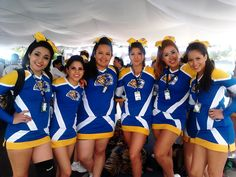 Blowing your mind Lady Tigers Nation Cheerleading Mexico UANL