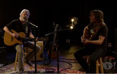 Bob Weir and Lukas Nelson