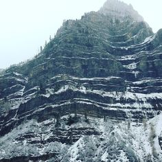 Winter has hit these mountains. Does snow make you want to bundle up and get out or snuggle under the covers?