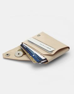 Crafted Danish minimal leather wallet, Ryze Project