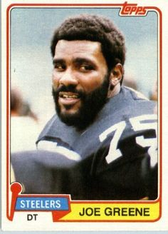 1981 Topps # 495 Joe Greene Pittsburgh Steelers Football Card - In Protective Screwdown Display Case! by Topps, http://www.amazon.com/dp/B00A44PGB0/ref=cm_sw_r_pi_dp_5LfLrb0JE1CJH