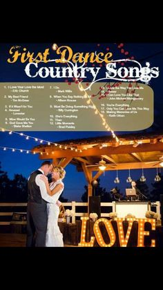 Find This Pin And More On Do It Yourself First Dance Country Songs Wedding