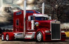 custom - US Trailer Service. Show Trucks, Big Rig Trucks, Pickup Trucks, Custom Big Rigs, Custom Trucks, Classic Chevy Trucks, Classic Cars, Chevy Classic, Truck Paint
