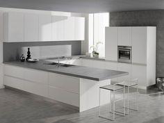 Cozinha lacada de folheado de madeira SETA - GeD cucine by GeD Arredamenti