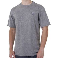 Spiderwire Men's Logo SS Performance Fishing Tee, Size: XL, Gray