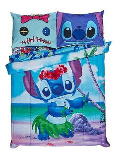 Disney Lilo & Stitch Hula Full/Queen Comforter,