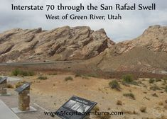 The San Rafael Swell in Central Utah is one of the state's best kept secrets.
