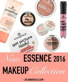 NEW Essence Cosmetics Fall/Winter Makeup Collection UPDATE 2016 - http://www.joliennathalie.com/2016/08/new-essence-cosmetics-fall-winter-makeup-collection-2016-update.html