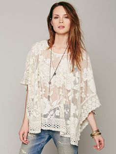 Free People Free People Lace Pullover, $58.00