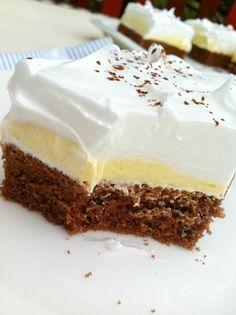 COOKam i guštam: Češki kolač Bakery Recipes, Sweets Recipes, Cookie Recipes, Halva Recipe, Bosnian Recipes, Kolaci I Torte, Sweet Cooking, Torte Cake, Sweet Cakes