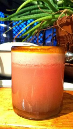 1/2 Grapefruit, sectioned & squeezed stevia, to taste 2 cubes ice Mix in blender. Serve immediately.