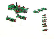 Awesome, tiny space cruisers.