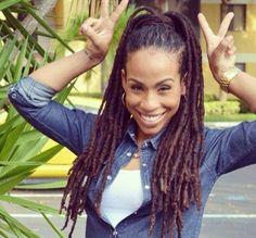 Joyfully loc'd, beautiful smile.  #locs #natural hair (2) Likes | Tumblr