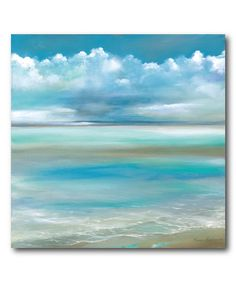 Courtside Market Sand, Sea & Sky II Wrapped Canvas | zulily