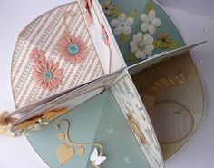 Whiff of Joy - Tutorials & Inspiration: Circle Album card by Jane Johnson - could be doll house