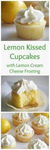Lemon Kissed Cupcakes by RoseBakes.com