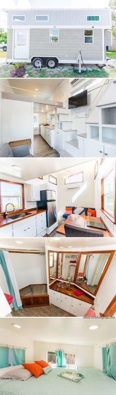 Home Design Ideas: Home Decorating Ideas Bathroom Home Decorating Ideas Bathroom The Amy at the Tiny House Siesta resort #tinyhomedecoratingideas #tinyhomeideas