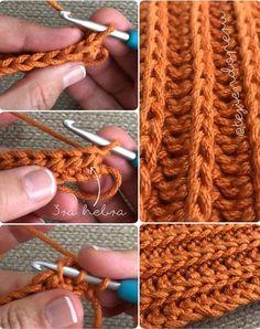 Crochet: bello punto reversibl |