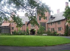 """In 1898, F.A. Seiberling founded The Goodyear Tire & Rubber Company. Between 1912 and 1915, he and his wife, Gertrude, built their country estate and named it """"Stan Hywet"""" in Akron, Ohio. Stan Hywet Hall & Gardens is a National Historic Landmark and is open to the public."""