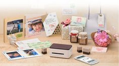 Casio Pomrie- new rubber stamp maker!