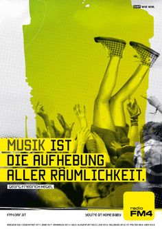 Music will transcend all space. Salzburg, Radios, Sunday, Space, Movie Posters, Art, Linz, Musik, Floor Space