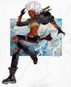 Storm by Ron Ackins