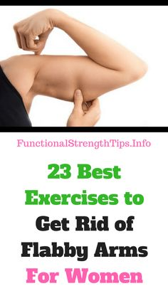 Are you tired of your saggy flabby arms? Well, don't despair. We have compiled here 23 exercises to get rid of flabby arms workout you can do at home. The good news is, the workouts can done using weights or no equipment at all.
