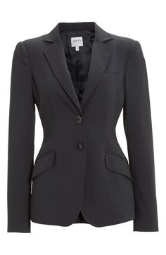 Two-Button Featherweight Wool Jacket