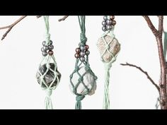 DIY – Macramé ornaments