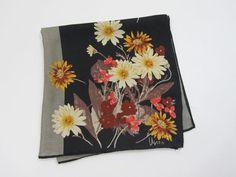 1960s VERA Silk Scarf Vintage Designer Scarf